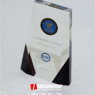 plakat resin penghargaan BNN